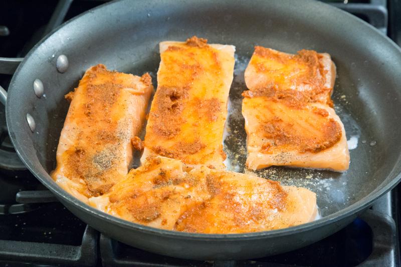 Paleo Curried Salmon