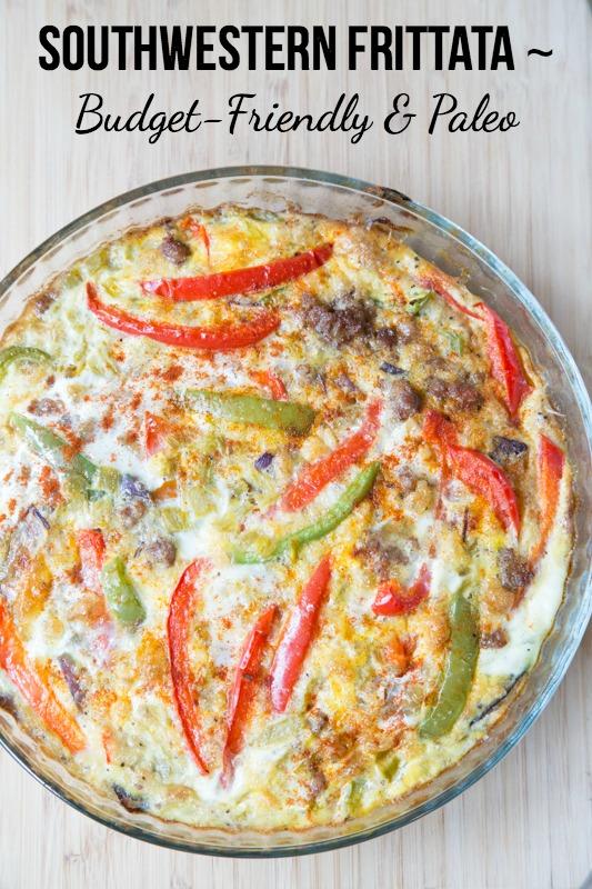 Southwestern Frittata Recipe | 5DollarDinners.com