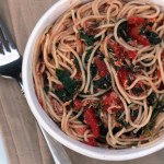 Chicken Spaghetti with Spinach | 5DollarDinners.com