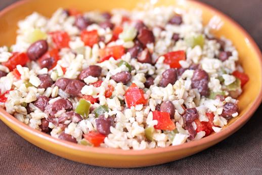 Fiesta Beans and Rice | 5DollarDinners.com