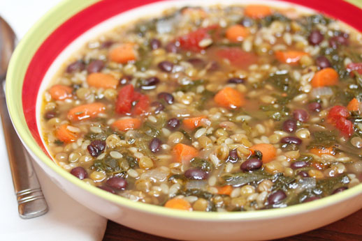 Lentil Minestrone Soup | 5DollarDinners.com