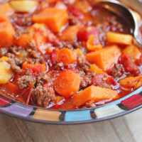 Winter Vegetable Chili | 5DollarDinners.com