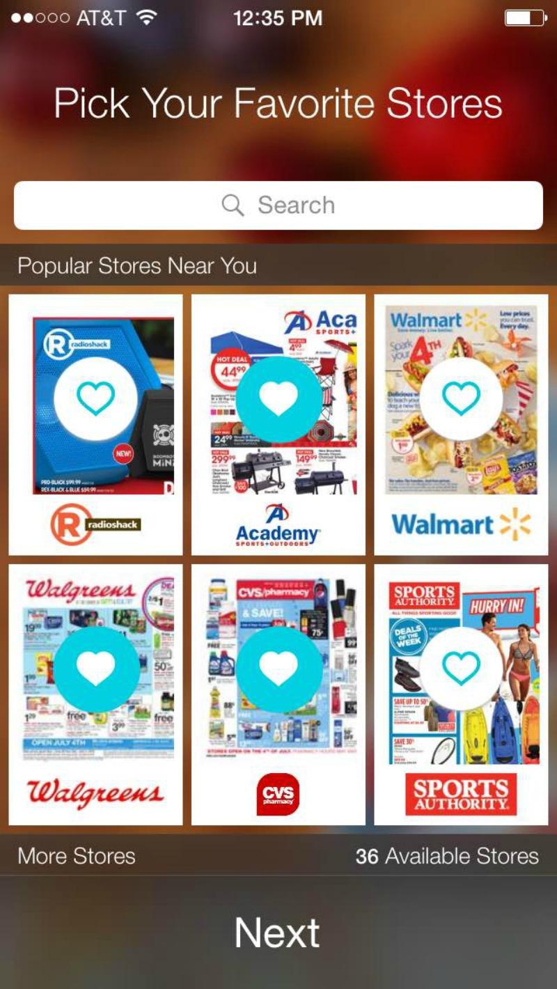 Flipp App Favorites