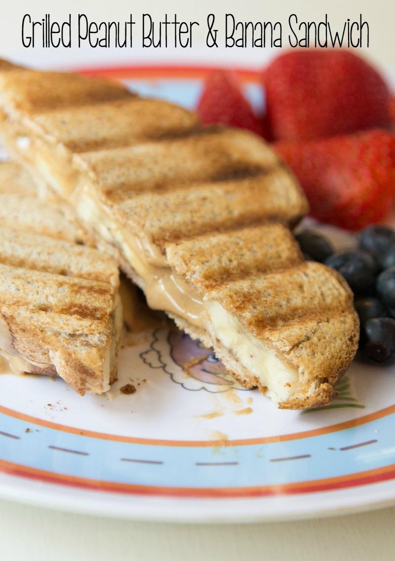 Grilled Peanut Butter-Banana Sandwich Recipe