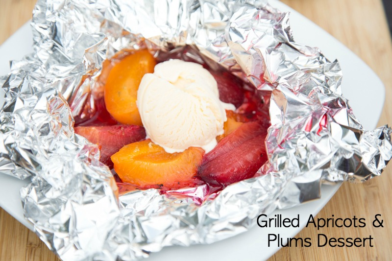 Grilled Plums & Apricots Recipe | 5DollarDinners.com