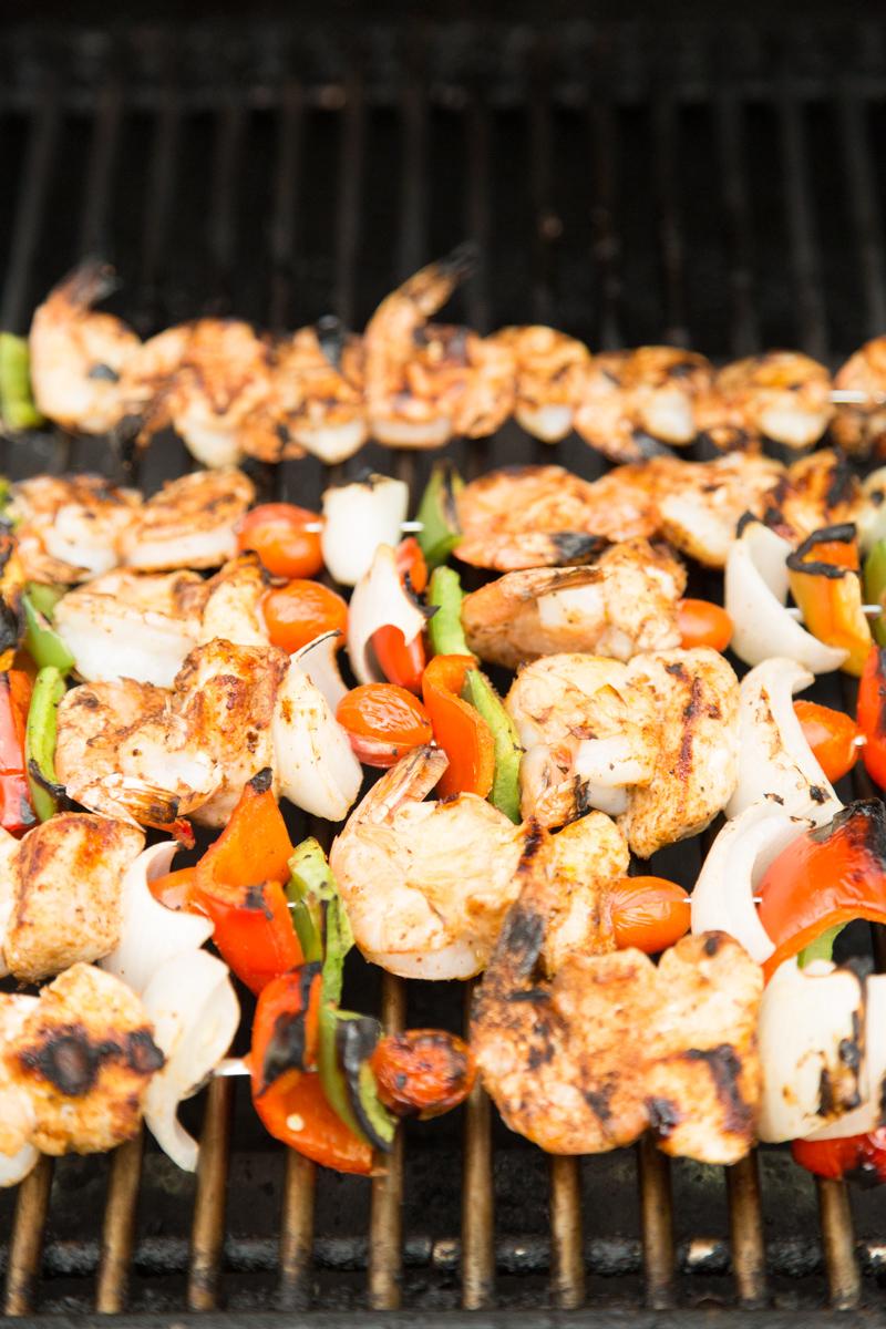 Jambalaya Kebabs