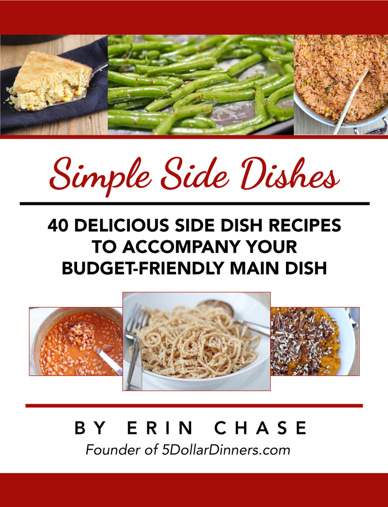 Simple Side Dish eBook from 5DollarDinners.com