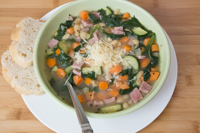 30-Minute Tuscan Bean Soup Recipe