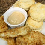 Chicken and Biscuits with BBQ Fry Sauce | 5DollarDinners.com