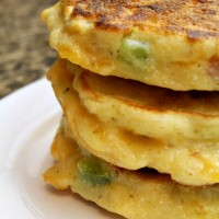 Ham and Cheese Corn Cakes from 5DollarDinners.com