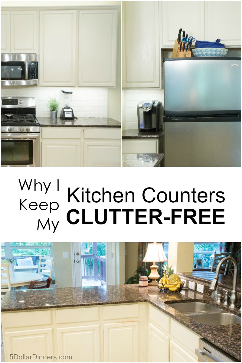 Why I Keep My Kitchen Counters