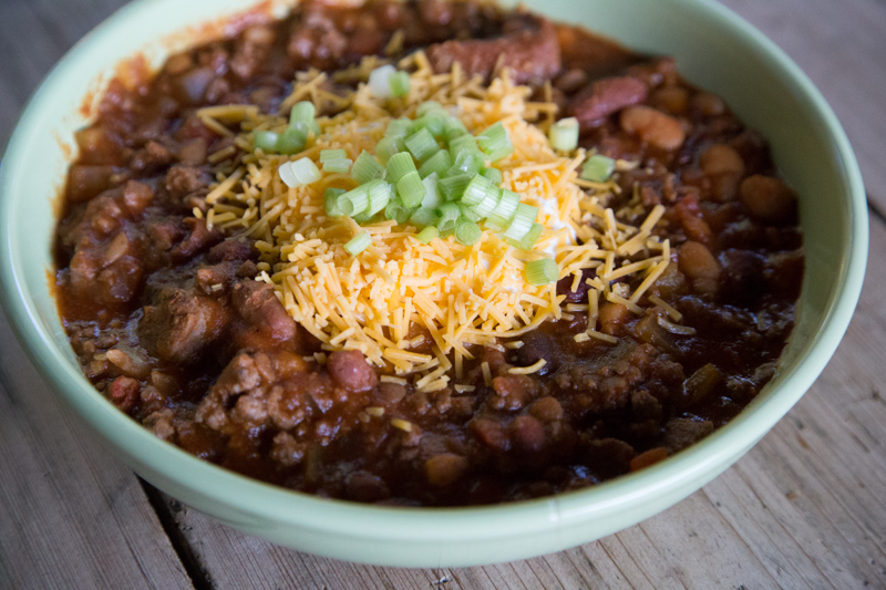 Chunky Beef & 15 Bean Chili