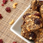 No Bake Chia Cherry Cashew Energy Bites from 5DollarDinners.com