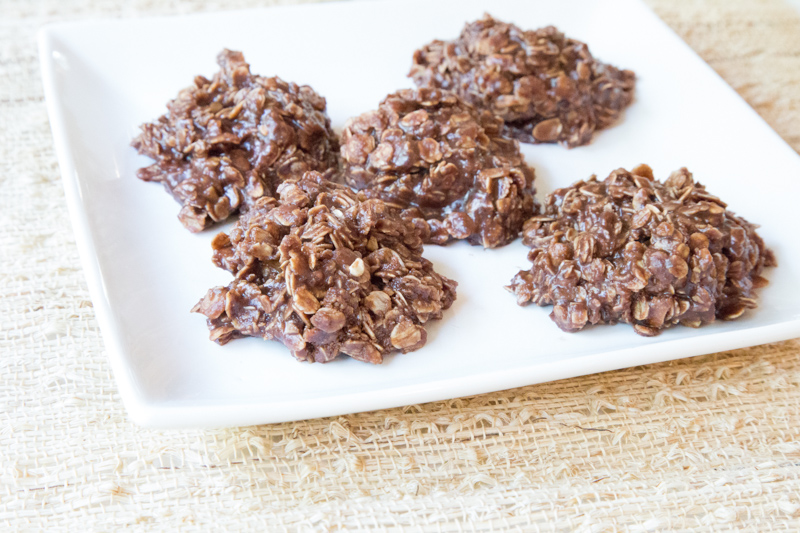 No Bake Peanut Butter Chocolate Cookies Recipe