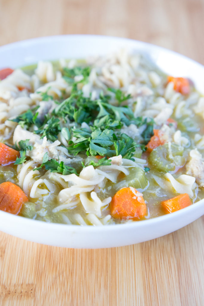 Homemade Chicken Noodle Soup-9