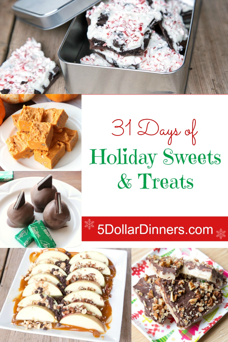 31 Days of Holiday Sweets and Treats