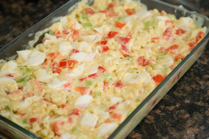 Crab Cake Macaroni & Cheese-11