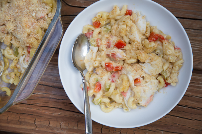 Crab Cake Macaroni & Cheese-14