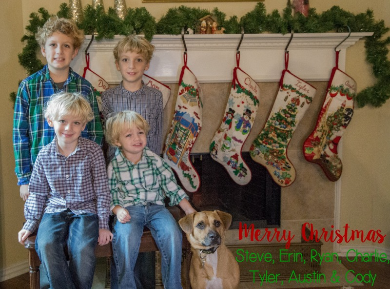 Chase Family Christmas 2015
