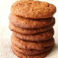 Homemade Ginger Snap Cookies from 5DollarDinners.com