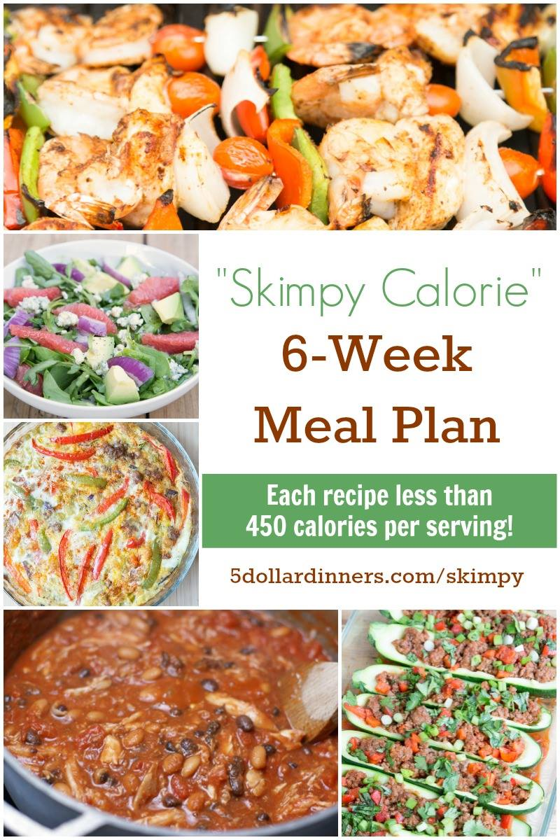 Skimpy Calorie Meal Plan