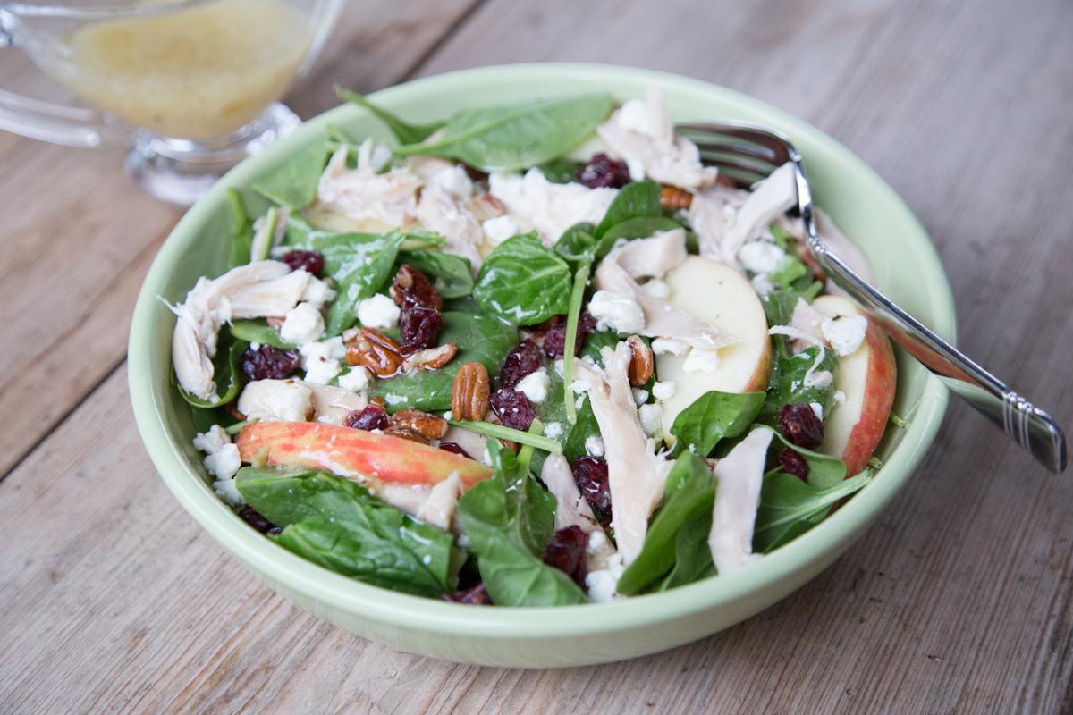 Winter Salad with Rotisserie Chicken-3