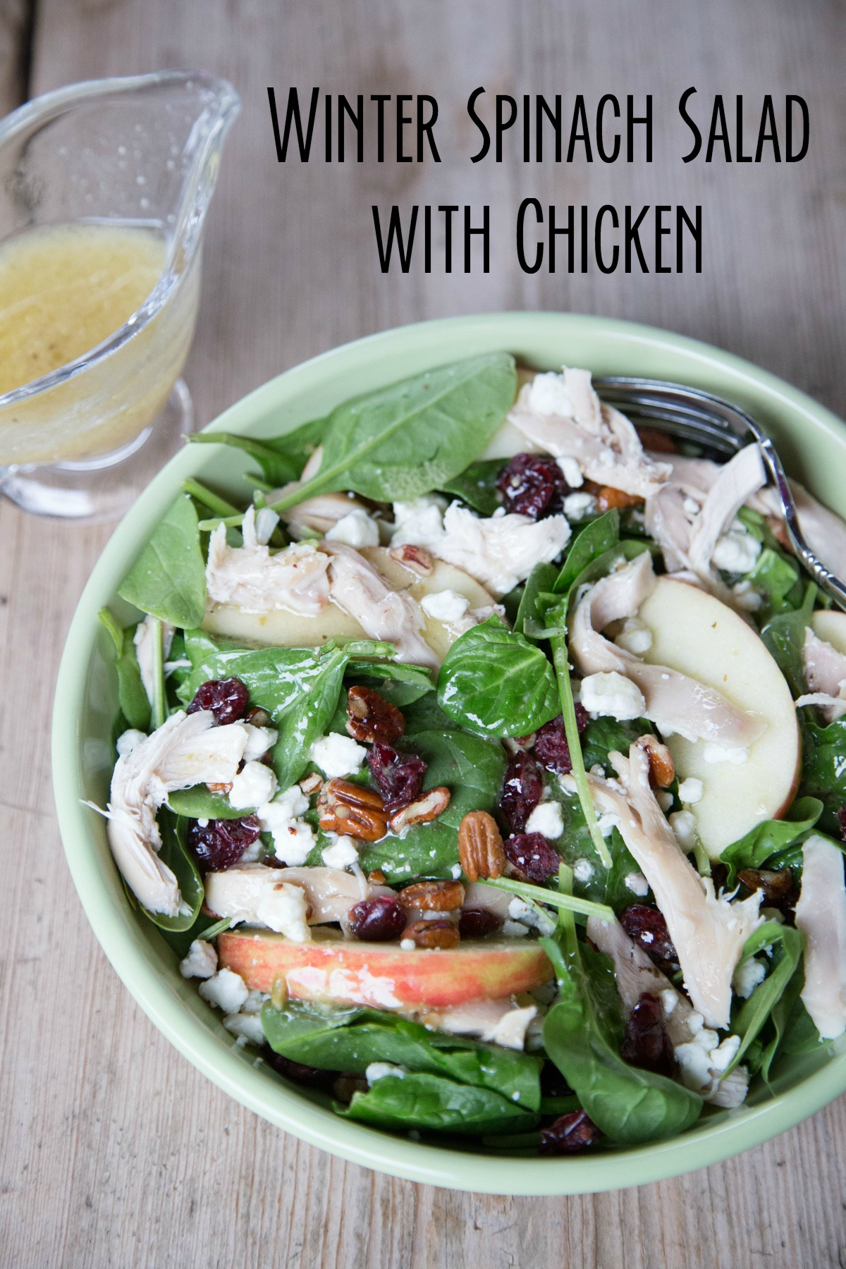 Winter Salad with Rotisserie Chicken Recipe on 5DollarDinners.com