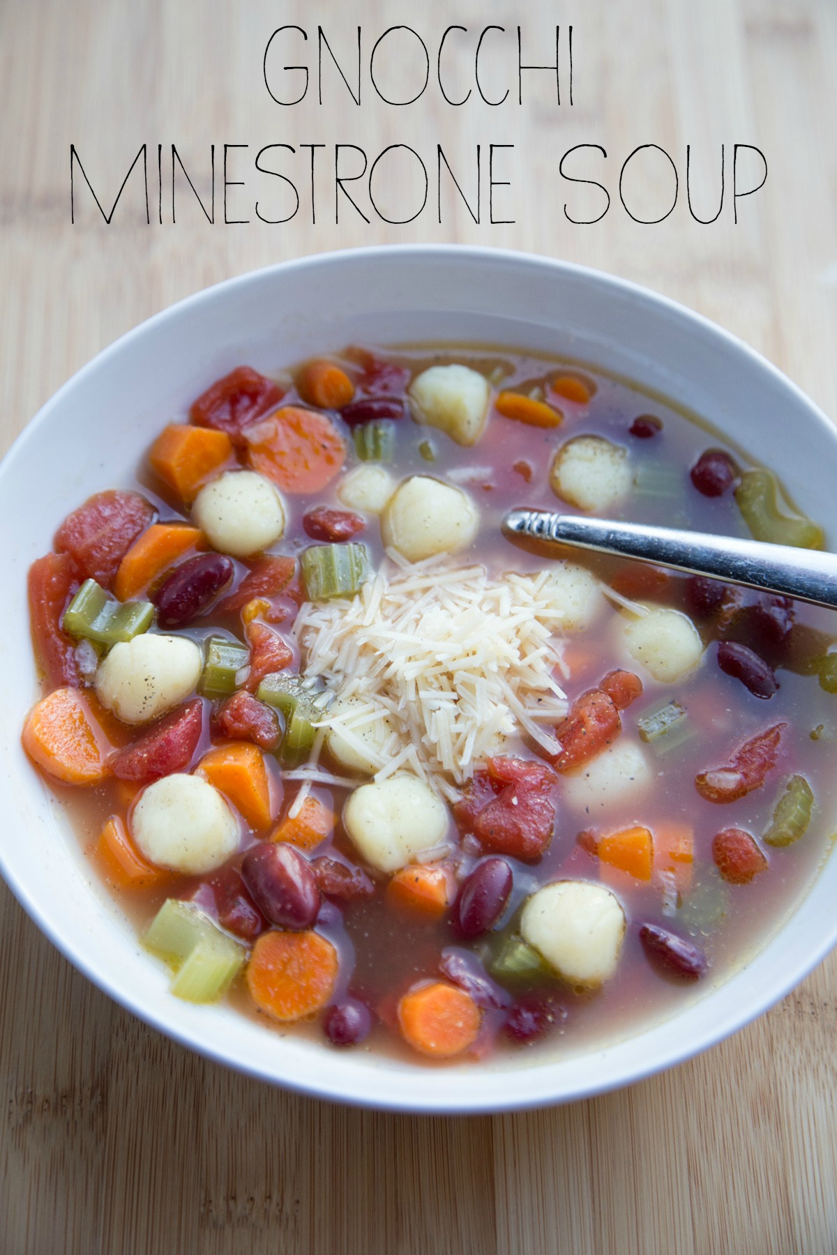 Gnocchi Minestrone Soup on 5DollarDinners.com