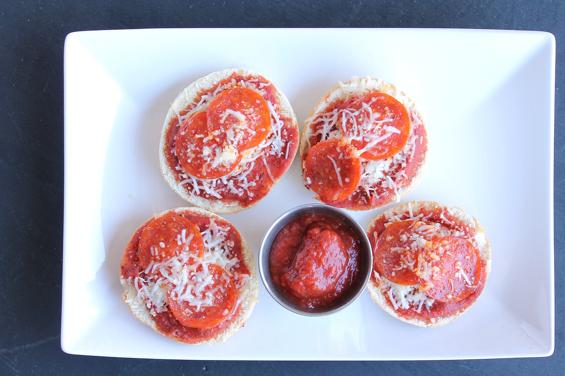 Pepperoni Pizza Bagels from 5DollarDinners.com