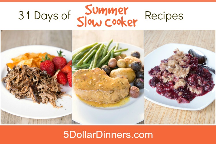31 Days of Summer Slow Cooker Recipes SQ