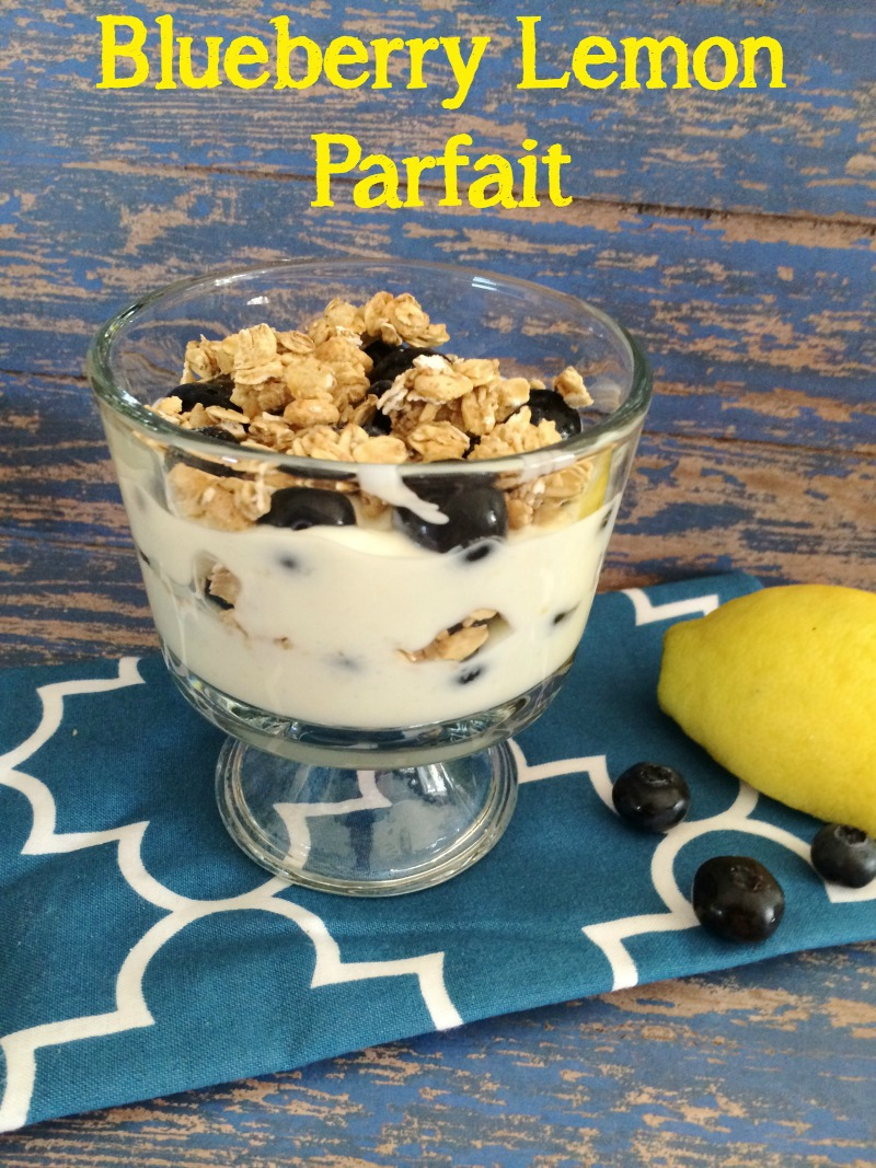 Blueberry Lemon Parfait 5DollarDinners.com
