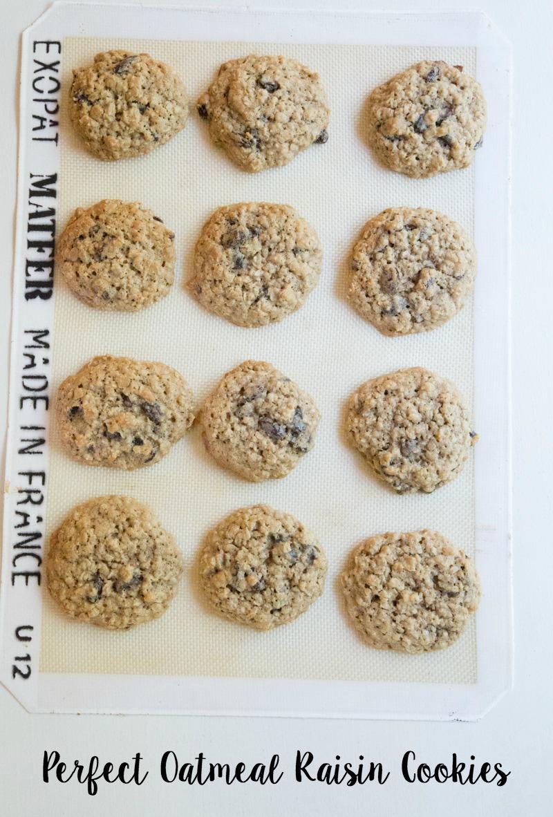 Oatmeal Raisin Cookies on 5DollarDinners.com