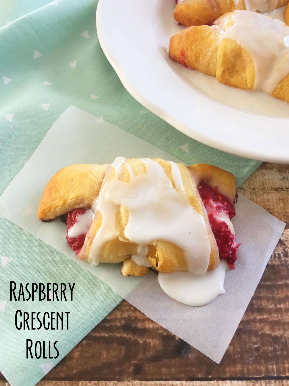 Raspberry Crescent Rolls