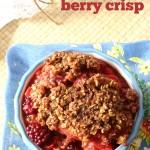 Slow Cooker Berry Crisp Recipe from 5DollarDinners.com