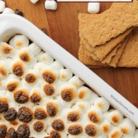 Slow Cooker S'mores Dip Recipe from 5DollarDinners.com
