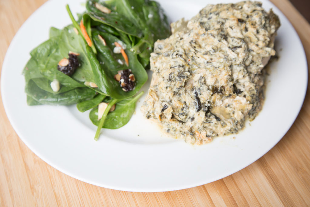 Spinach Artichoke Dip Chicken-2