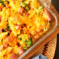 Cheesy Broccoli & Ham Pasta from 5DollarDinners.com