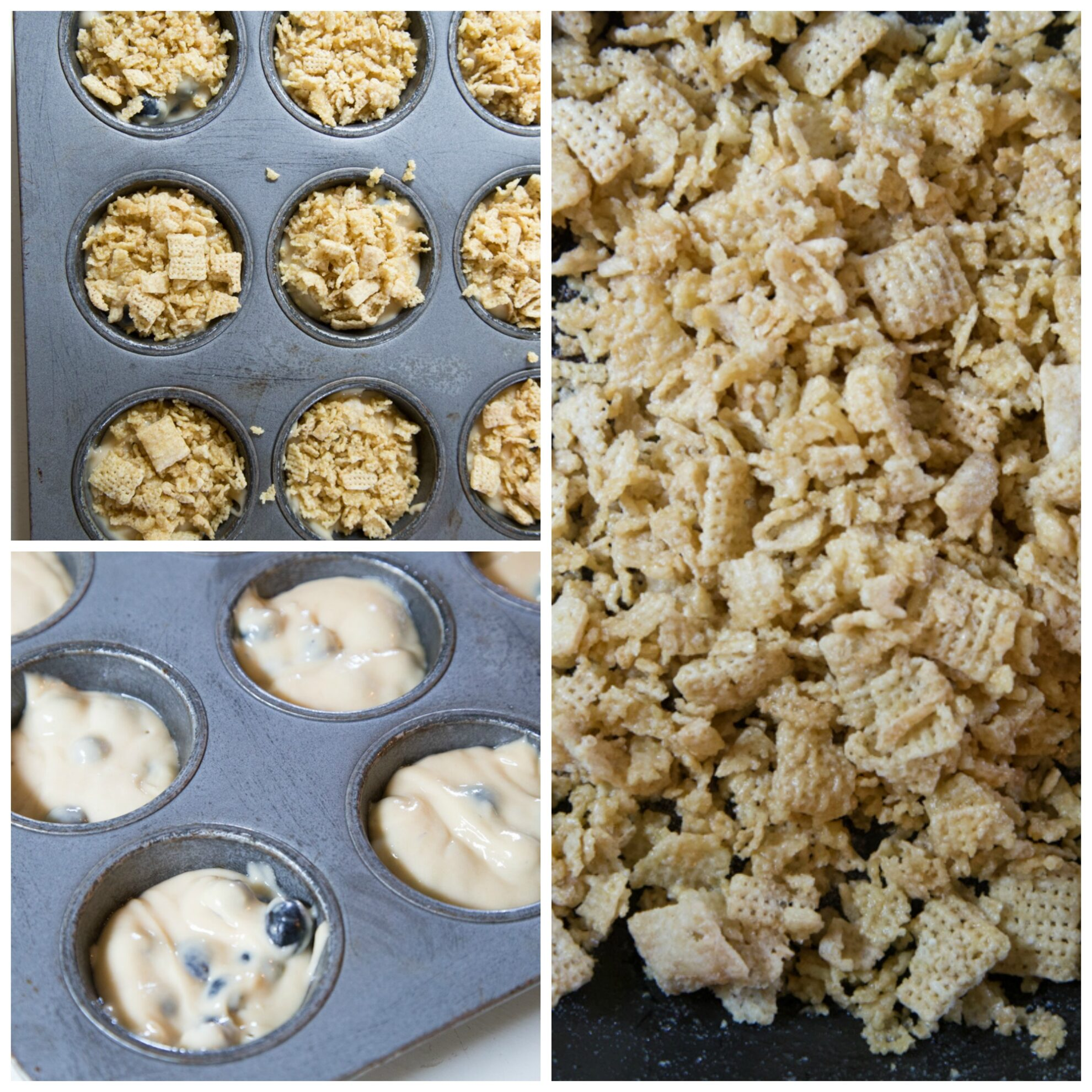 Chex Streusel Collage