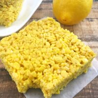 Lemon Rice Krispies from 5DollarDinners.com