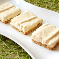 No Bake Coconut Key Lime Pie Squares Recipe from 5DollarDinners.com