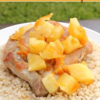 Asian Orange Pineapple Pork Chops Recipe from 5DollarDinners.com