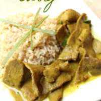 Beef Coconut Curry 5 Ingredient Recipe from 5DollarDinners.com