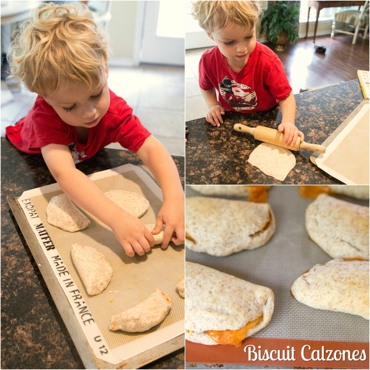 Kid Friendly Recipe for Biscuit Calzones