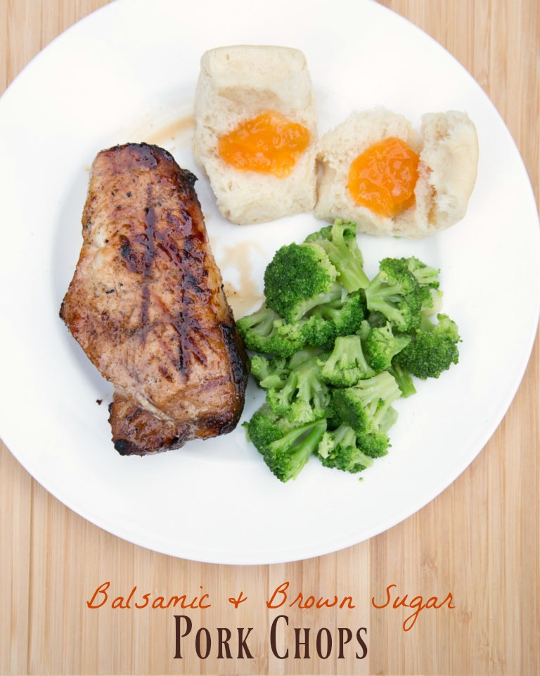 Brown Sugar Balsamic Pork Chops
