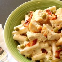 Chicken Alfredo Pasta Casserole from 5DollarDinners.com