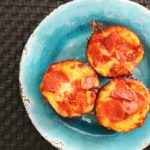 Pepperoni Pizza Muffins ~ easy kid friendly recipe from 5DollarDinners.com