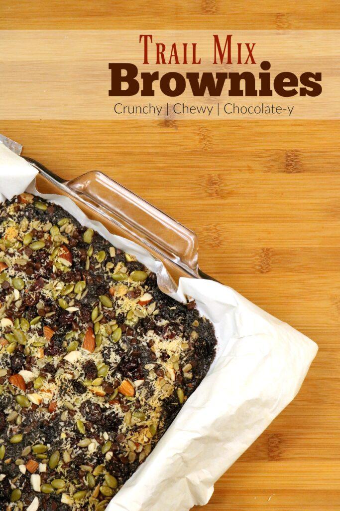 Trail Mix Brownies Recipe from 5DollarDinners.com