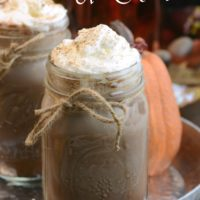 Pumpkin Spice Hot Chocolate from 5DollarDinners.com