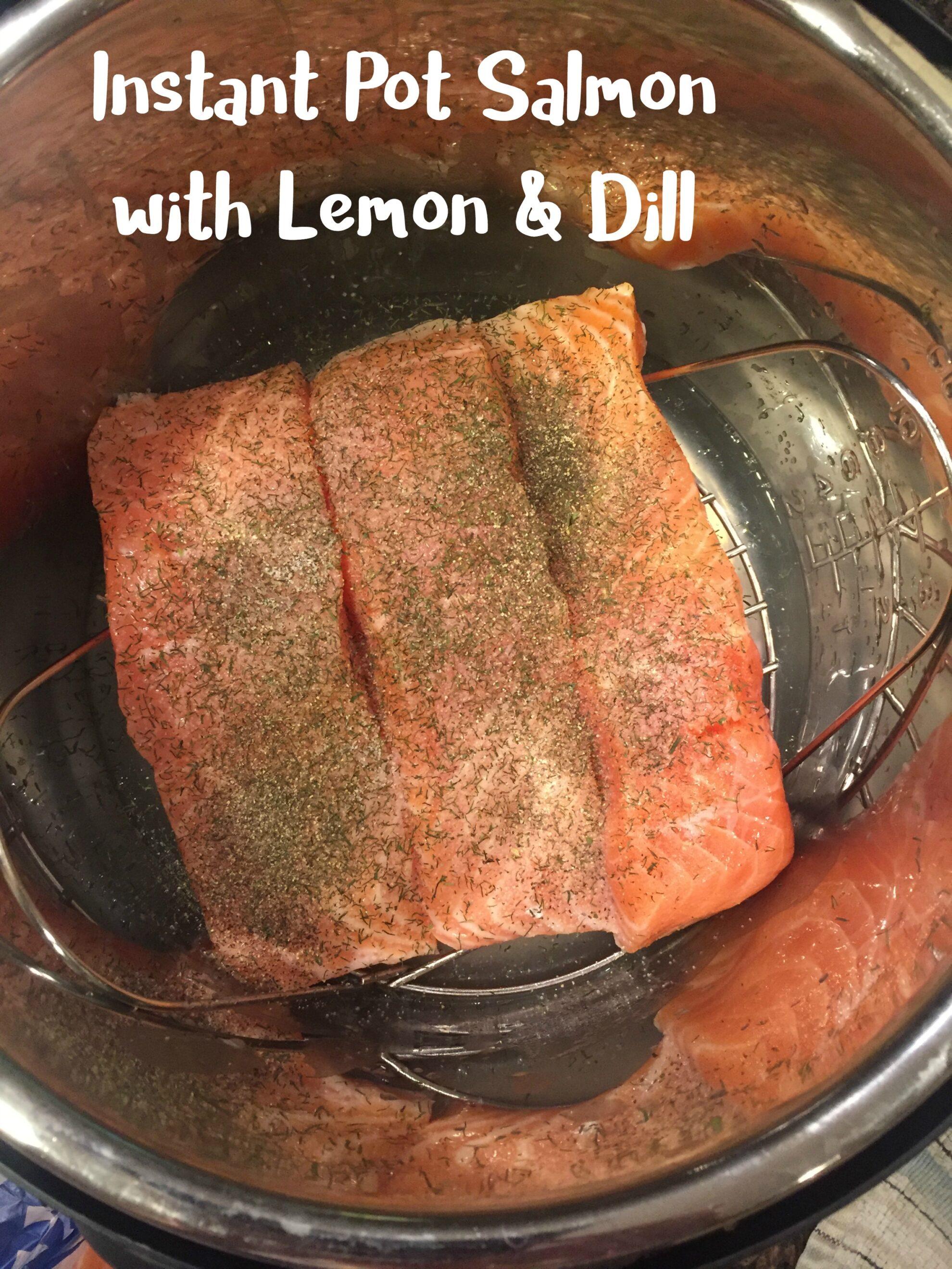 Instant Pot Salmon 5DollarDinners.com