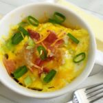 Loaded Potato Breakfast Omelet in a Mug Recipe from 5DollarDinners.com
